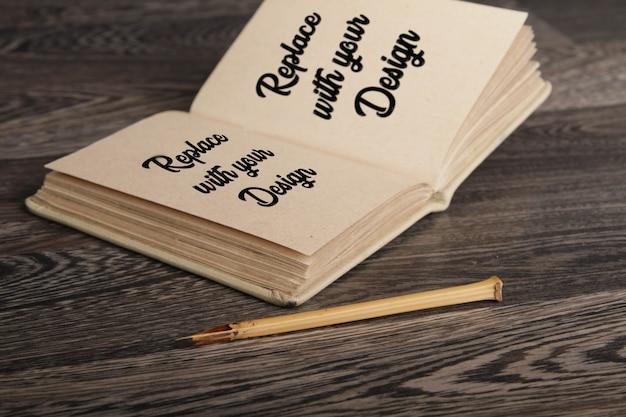 Zestaw makiet art sketchbook