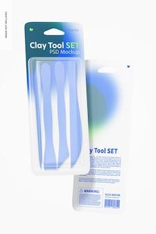 Zestaw makiet clay tool, pływający