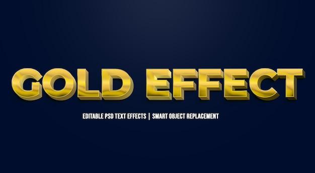 Złote efekty tekstowe