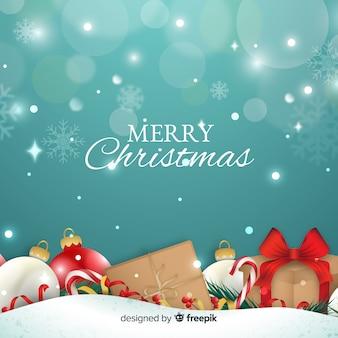 Ładne tło Boże Narodzenie