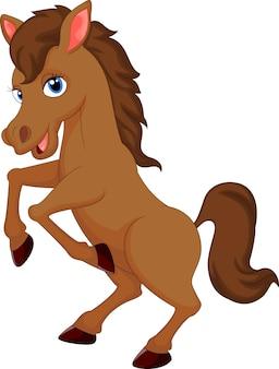 Ładny koń kreskówka