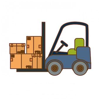 ładunek wysyłki lub obsługi obraz ikony związane