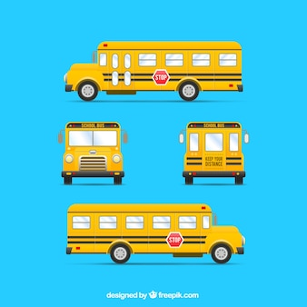 Żółty autobus