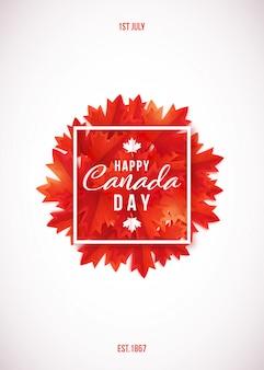 1 lipca, happy canada day.