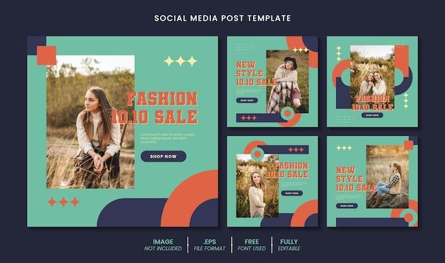 10.10 sprzedaż postu w mediach społecznościowych lub szablonu banera internetowego