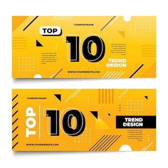 10 najlepszych banerów rankingowych