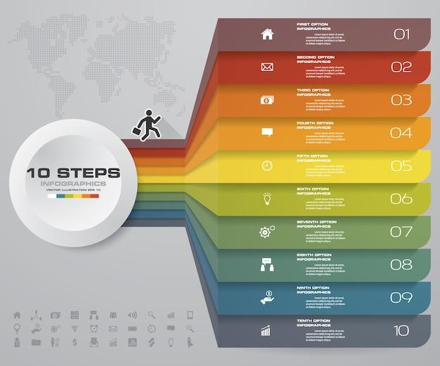 10 opcji projektowania infografiki do prezentacji.