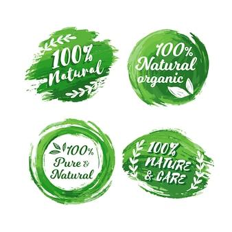100% naturalna kolekcja odznak