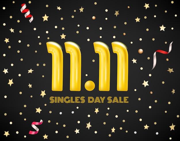 11 listopada koncepcja sprzedaży dnia singli