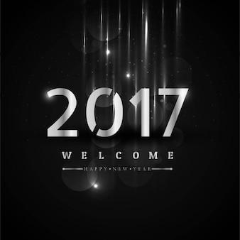2017 happy new year piękny, tło