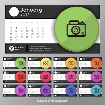 2017 kalendarz z konstrukcji aparatu