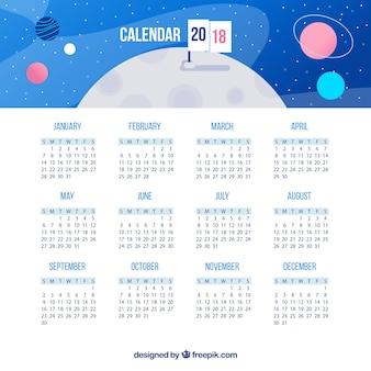 2018 kalendarz