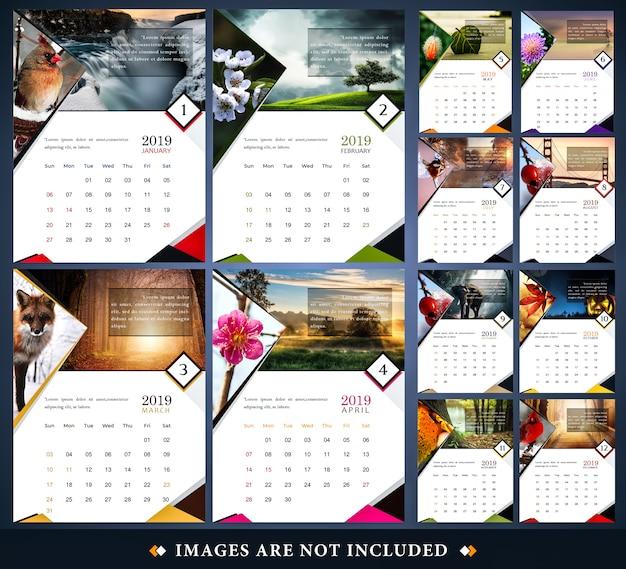 2019 kalendarz