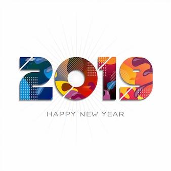 2019 szczęśliwego nowego roku