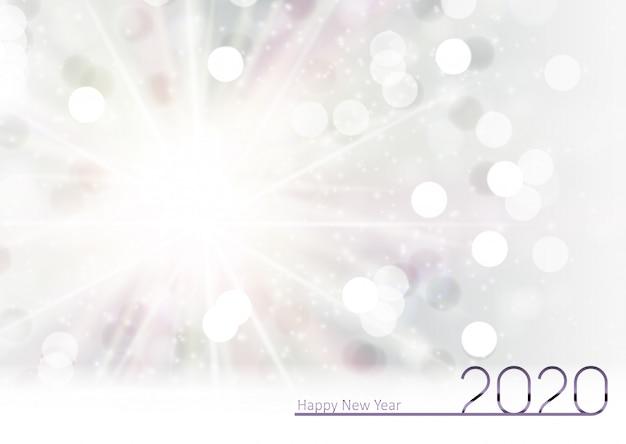 2020 nowy rok i wesołych świąt bożego narodzenia tło