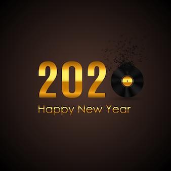 2020 szczęśliwego nowego roku i wesołych świąt