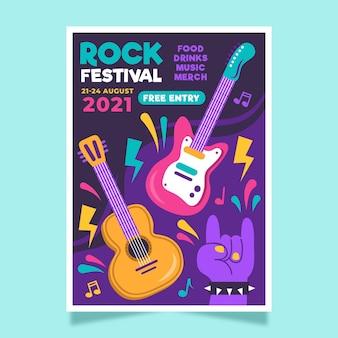 2021 ilustrowany festiwal muzyczny