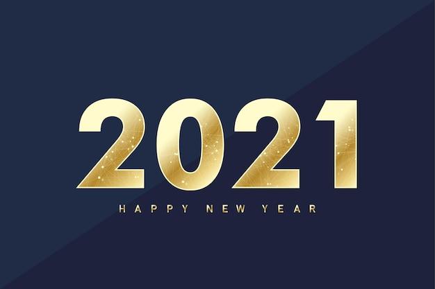 2021 szczęśliwego nowego roku. wesołych świąt i szczęśliwego nowego roku 2021 kartkę z życzeniami. świętuj szablon strony do 2021 roku. ilustracja wektorowa.