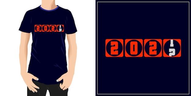 2022typografia projekt gotowy do etykiety na koszulkę z kubkiem lub nadruku premium wektor
