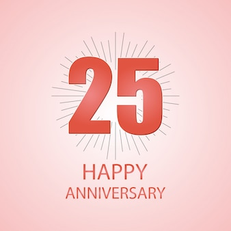 25 happy rocznica typogrpahy
