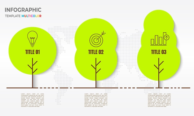 3 infografika osi czasu drzewa