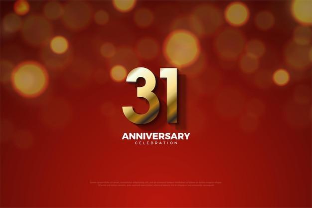 31. rocznica ze złotą edycją wykończeniową