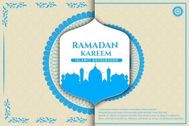 33luksusowy ramadan kareem kolor tła bordowy i złoty