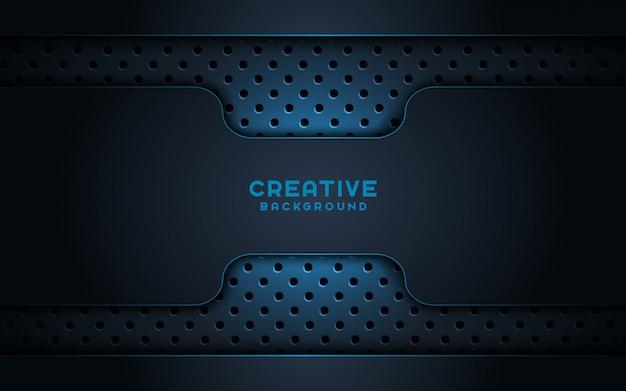3d ciemne tło kreatywnych.