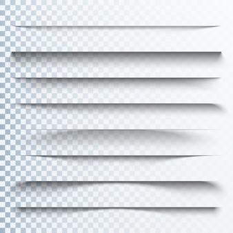 3d efekt przezroczystych cieni