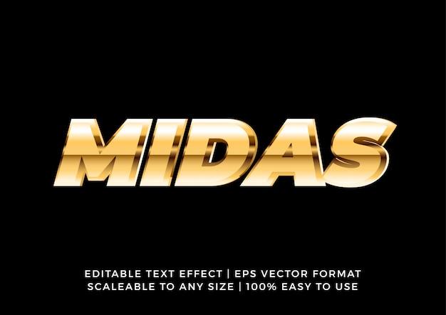 3d gold metallic bold text effect