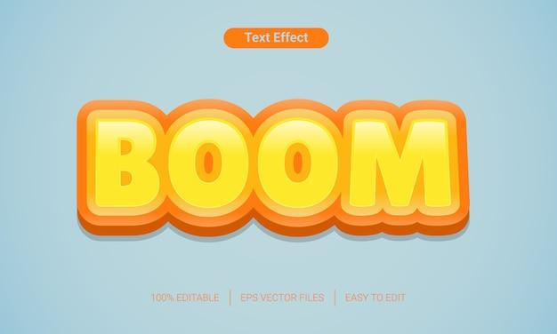 3d gradient fajny miękki kolor buble efekt stylu tekstu