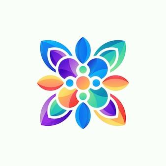 3d logo, szablon, ilustracja