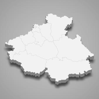3d mapa regionu rosji