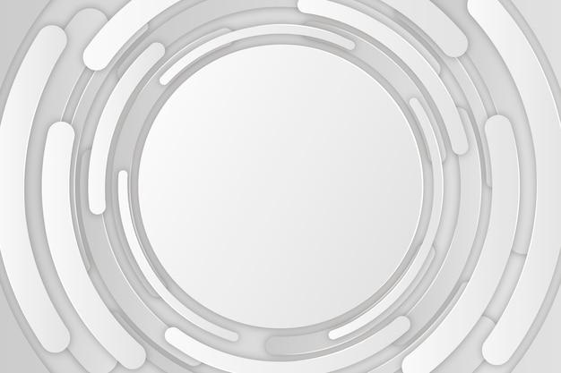 3d papieru stylu tła projekt