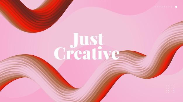 3d streszczenie płynne tło. kolorowe kształty fal. płynne tło odpowiednie do tapet, startupów, strony docelowej, strony internetowej lub prezentacji biznesowej