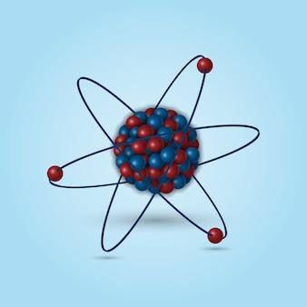 3d struktura atomowa