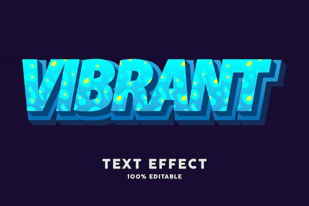 3d świeży błękitny błękit z ciecza stylu teksta skutkiem