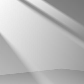 3d szare tło sceny prezentacja produktu prezentacja sceny podium z miękkim cieniem. ilustracja wektorowa