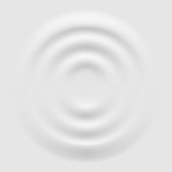 3d technologia tło w ilustracji stylu neomorfizmu na białym tle