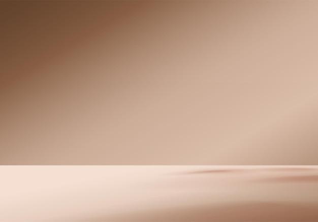3d tło produkty wyświetlają scenę ze światłem