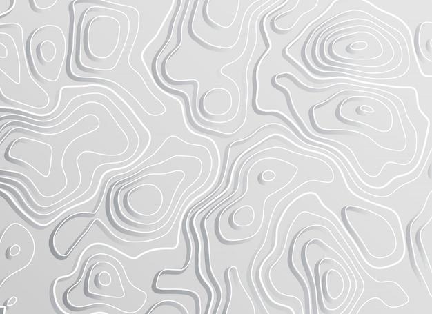 3d topograficzny mapy konturu elewaci pojęcia tło