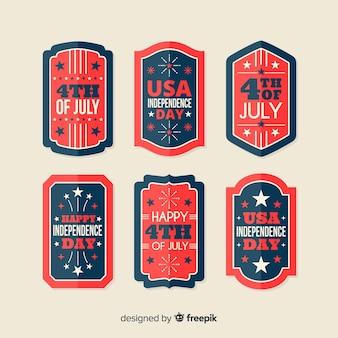 4 lipca kolekcja odznak