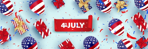 4 lipca, szczęśliwy dzień niepodległości