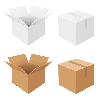 4 pudełka