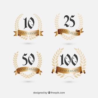4 rocznica znaki