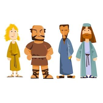 4 uczniów