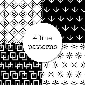 4 wzory liniowe