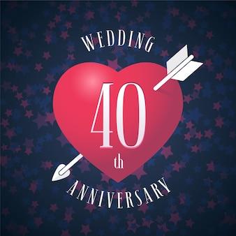 40 lat ślubu