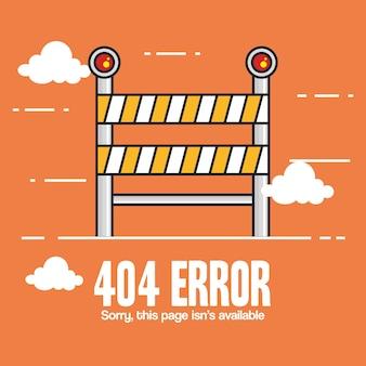 404 ikony błędu połączenia z internetem