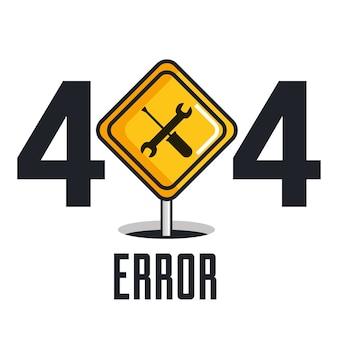 404 ikony błędu połączenia